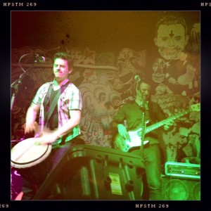 Simon Hudson and band, single 'Do Me A Favour' launch, The B-East, Melbourne