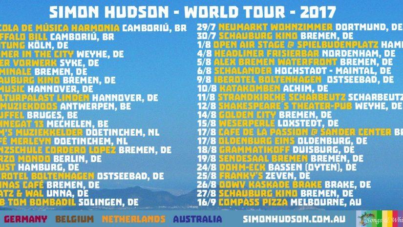 European dates announced