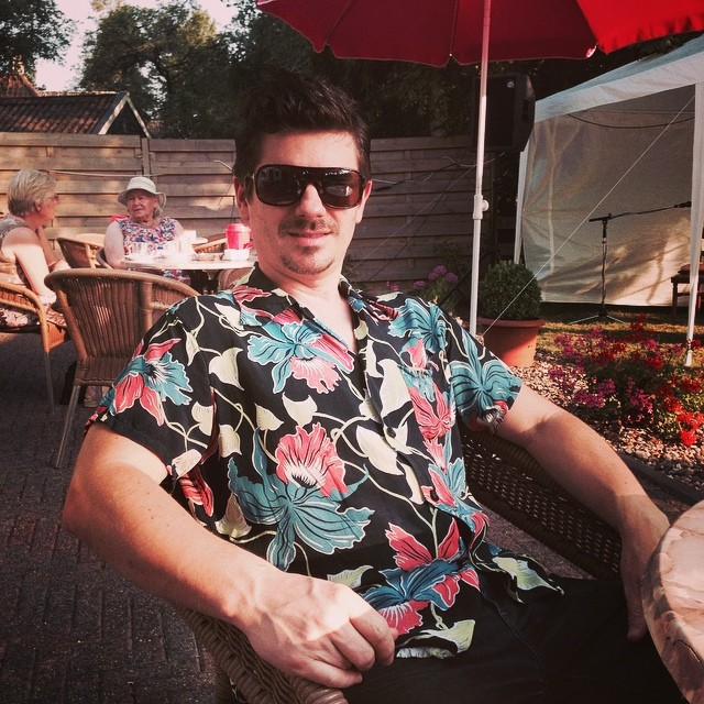 Farewell flowery Darwin shirt – you have served me well. 5 weeks of European summer was too much for you