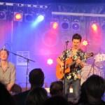 Simon Hudson and band at Breminale Festival, Germany