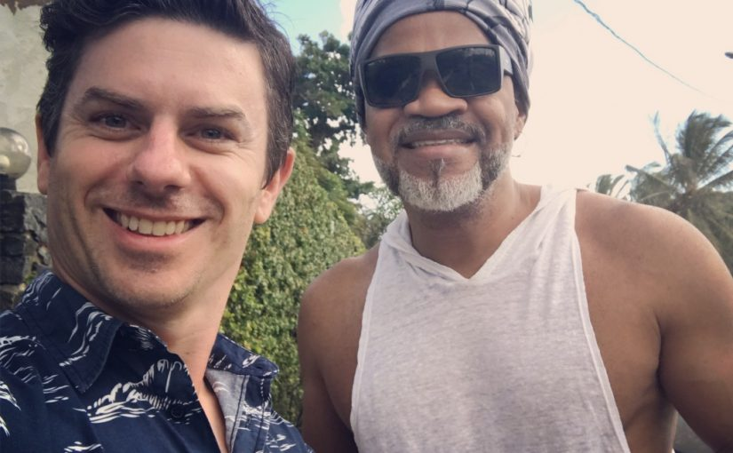Meeting with Carlinhos Brown